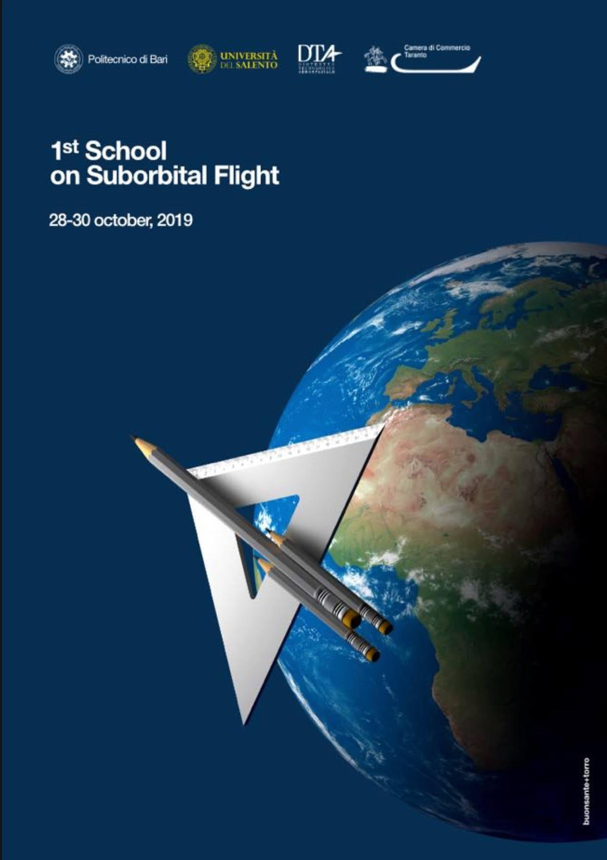 Inaugurazione prima Scuola Internazionale sul Volo Suborbitale