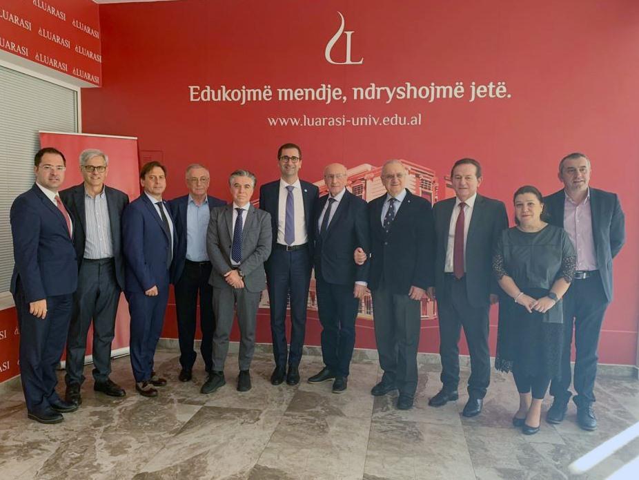 Il Politecnico a Tirana