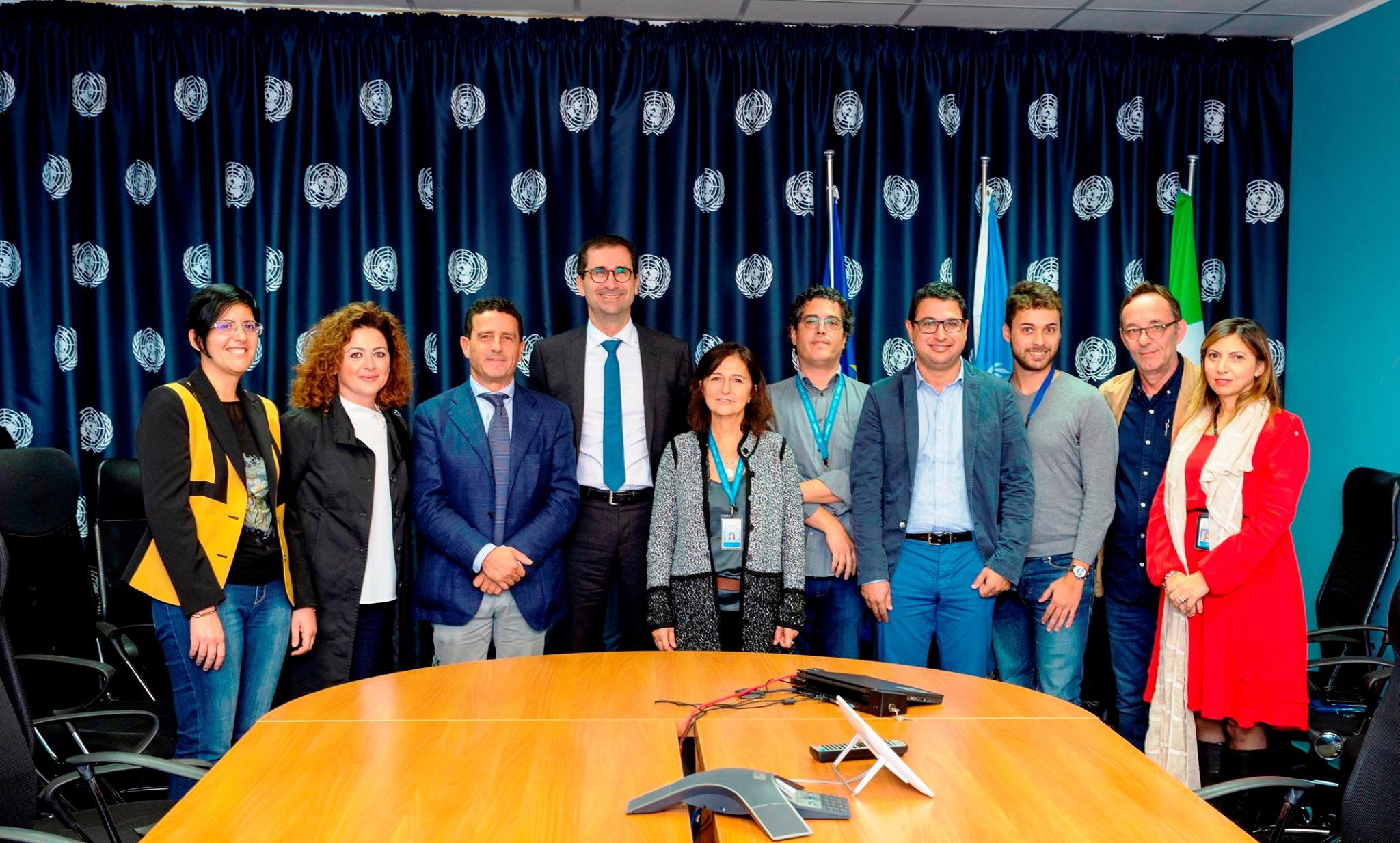 UNGSC - Centro Servizi Globale delle Nazioni Unite di Brindisi.