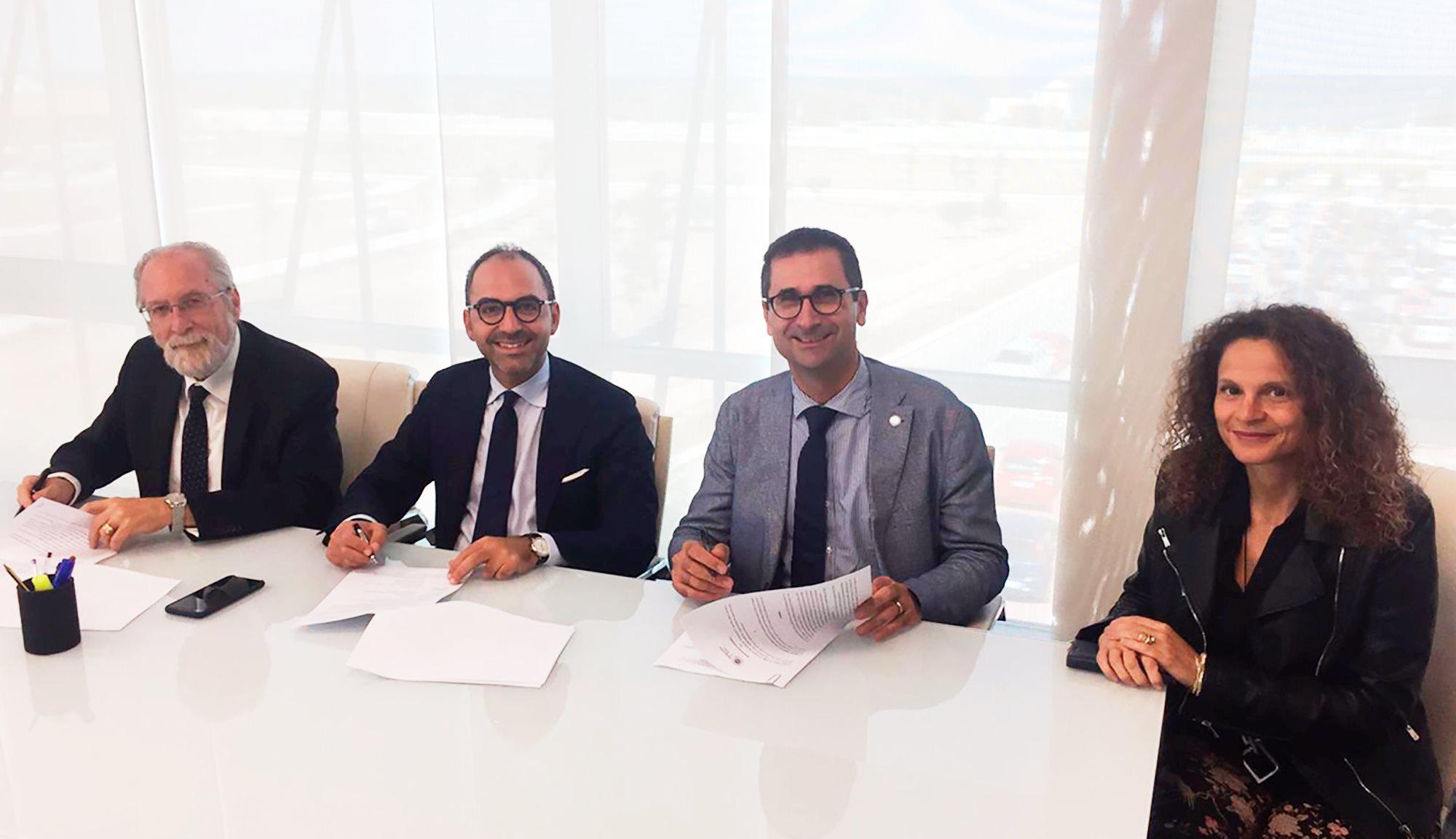 Firma protocollo di intesa Regione Puglia